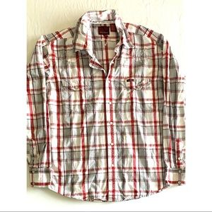 Cowboy Hardware Men's Button Down Shirt Size XL